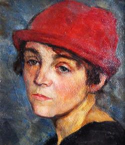 """""""Портрет женщины в красной шляпке"""""""