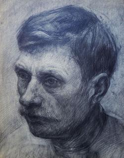"""Коллекция leningradart.com, выставка """"ГОРБ В.А. Портрет. 1920-1930-е г.г."""""""