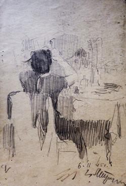 """Коллекция leningradart.com, выставка ТРУФАНОВ М.П. """"Живопись, графика. 1944-1945 г.г."""""""