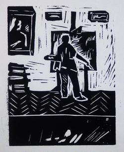 """Коллекция leningradart.com, выставка """"Ленинградские художники пишут сами себя и друг друга"""""""