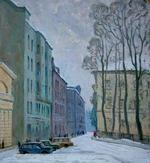 """Коллекция leningradart.com, выставка """"Ленинградский городской пейзаж"""""""