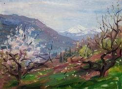 """Коллекция leningradart.com, выставка ШОРР Т.Я. """"Хоста. Ранняя весна 1957-го"""""""