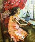 """Коллекция leningradart.com, выставка """"Павловский Г.В. Портрет. 1930-1960 г.г."""""""