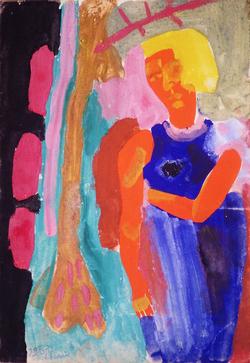 """Коллекция leningradart.com,  выставка КОРОБОВ В.М. """"Живопись. Рисунки. 1930-е г.г."""""""