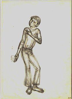 """Коллекция leningradart.com, выставка РЫБАЛКО В.Л. Графика.1960-1980-е г.г."""""""