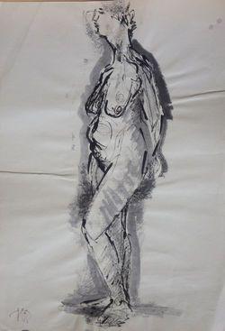 """Коллекция leningradart.com  Выставка """"ОБНАЖЕННАЯ  НАТУРА"""" Живопись, графика, скульптура."""
