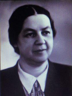 Н.В. Шафранская. Фотография 1950-х годов.