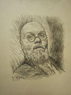 """Автопортрет """"Болен"""" - cобственность интернет-галереи leningradart.com"""