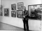 Персональная выставка Д.П. Бучкина в залах ЛОСХ-а. 1984 г.